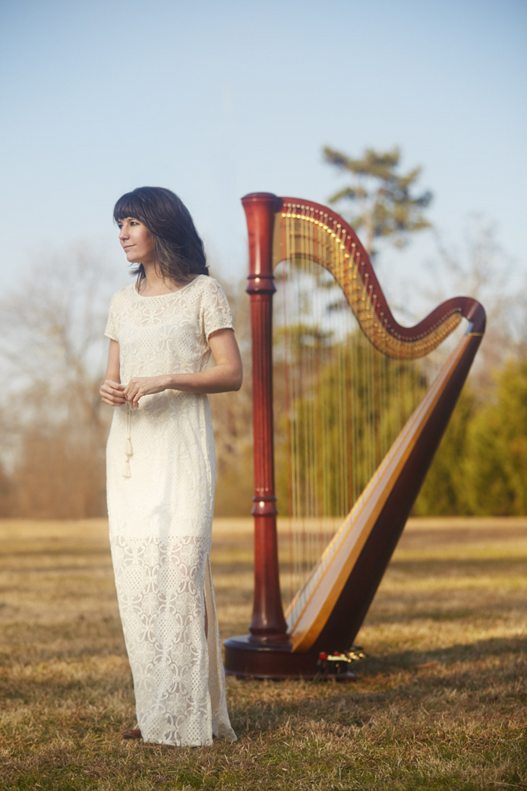 Alisa, Harpist for Arkansas Symphony Orchestra
