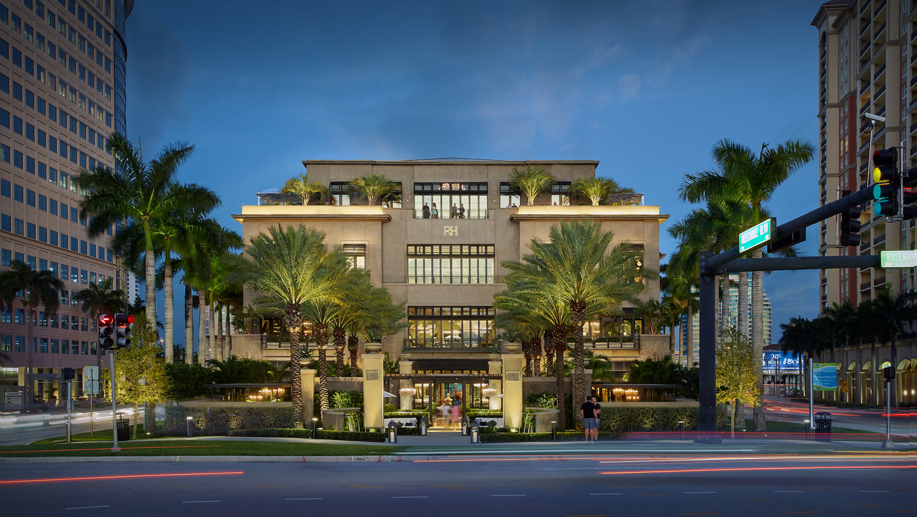 restoration hardware west palm beach photography commercial building